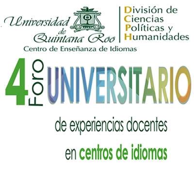 4 Foro Universitario de Experiencias Docentes en Centros de Idiomas