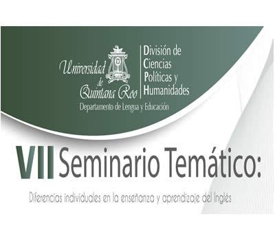 VII Seminario Temático