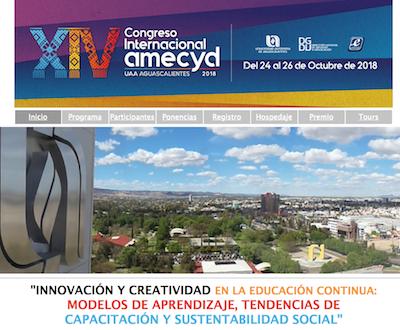 XIV Congreso Internacional AMECYD 2018