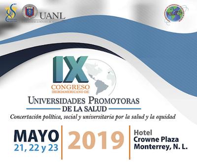 IX CONGRESO IBEROAMERICANO DE UNIVERSIDADES PROMOTORAS DE LA SALUD