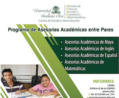 Programa de Asesorías Académicas entre pares