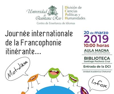 Journée internationale de la Francophonie itinérante